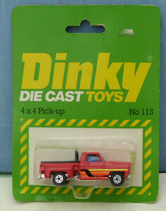 Dinky-Toys-Airfix-ownership-No-113-4-x-4-Pick-up-Truck-Mint-Packaged