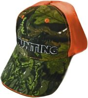 i'd Rather Be Hunting Orange & Camouflage Hat Baseball Cap - 1 & 2 Pack