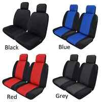 Pair Of Neoprene Waterproof Car Seat Covers To Suit Toyota Landcruiser 80