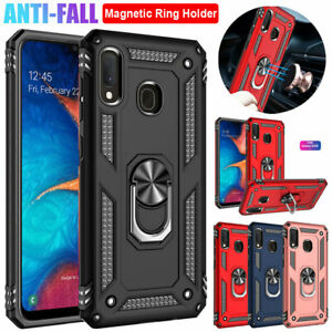 Shockproof-Armor-Case-for-Samsung-Galaxy-A20-A30-A50-A70-A10e-Ring-Stand-Cover