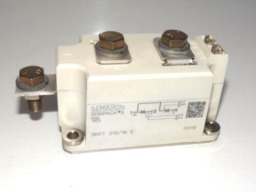 Semikron Semipack 3 SKKT213//16E IGBT Modul Transistor Top