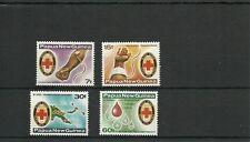 PAPUA  NEW GUINEA SG393-396 RED CROSS BLOOD BANK SET  MNH