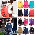 Women Girl Canvas Retro Shoulder School Bag Handbag Bookbag Backpack Rucksack