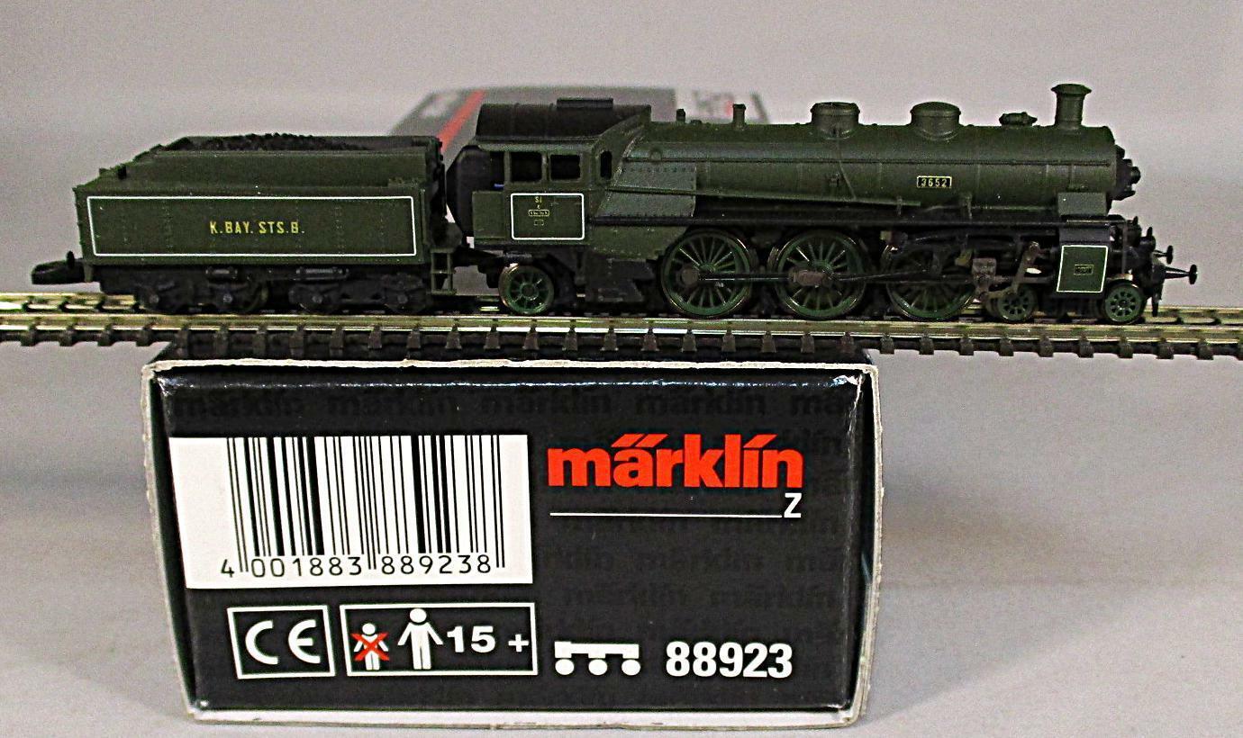 Märklin pista-Z 88923 máquina de vapor br s3 6 Baviera época - 1 en verde nuevo + embalaje original