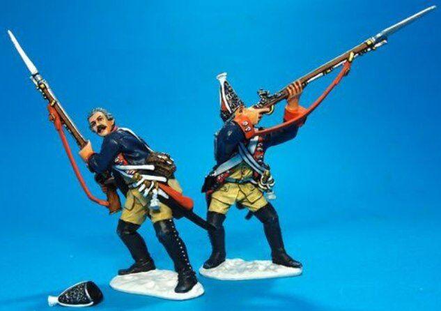 John Jenkins Seven Jahre Krieg 1757 leut-08 Preußische Grenadiere brennen MIB
