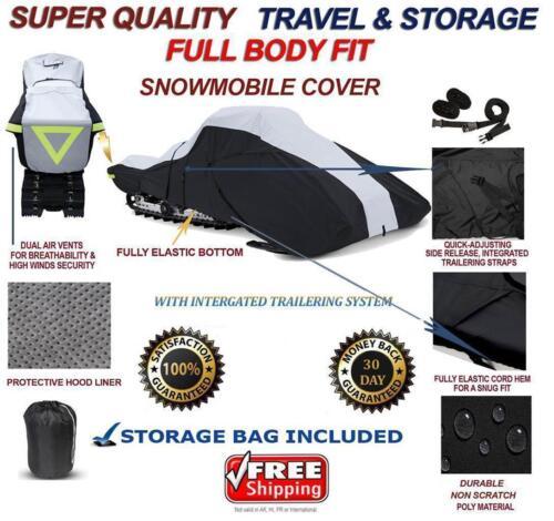 Full Fit Snowmobile Sled Cover POLARIS 800 RMK 155 2005-2016
