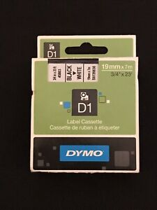 Dymo D1 Schriftband Kassette 45803 Schwarz auf Weiß - Saarland, Deutschland - Dymo D1 Schriftband Kassette 45803 Schwarz auf Weiß - Saarland, Deutschland