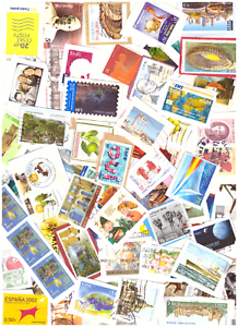 450G-WORLDWIDE-KILOWARE-STAMPS-ON-PAPER
