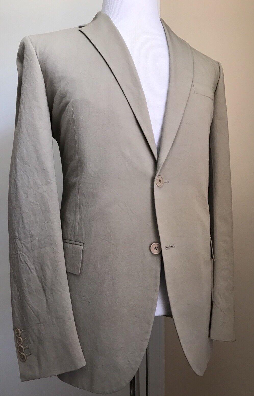 New 2580 Botega Venetta  Herren Summer Suit Ivory 44 US ( 54 Eur)