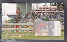 A 30 ) BRD Germany Sport Markenheftchen 2006 ESST Berlin - Pferdesport WM Aachen