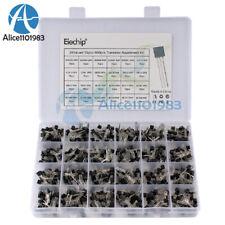 840pcs Set 24 Values To 92 Transistor Assortment Kit Bc327 Bc337 Bc547 Pack