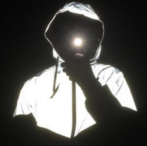 Men Reflective 3m Jackets Hip Hop Outdoor Sport Waterproof Windbreaker Coats