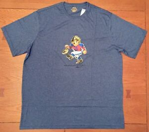 POLO-RALPH-LAUREN-MEN-039-S-POLO-BEAR-FOOTBALL-BEAR-T-SHIRT-BIG-amp-TALL-SIZES