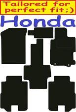 Honda Fr-V Tailored car mats ** Deluxe Quality ** 2009 2008 2007 2006 2005 2004