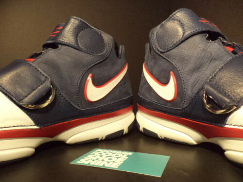Blue Ds White Red 2 Kobe 2007 Usa 316835 St Zoom 411 13 Olympic Ii Strength Nike FwPzvPq6