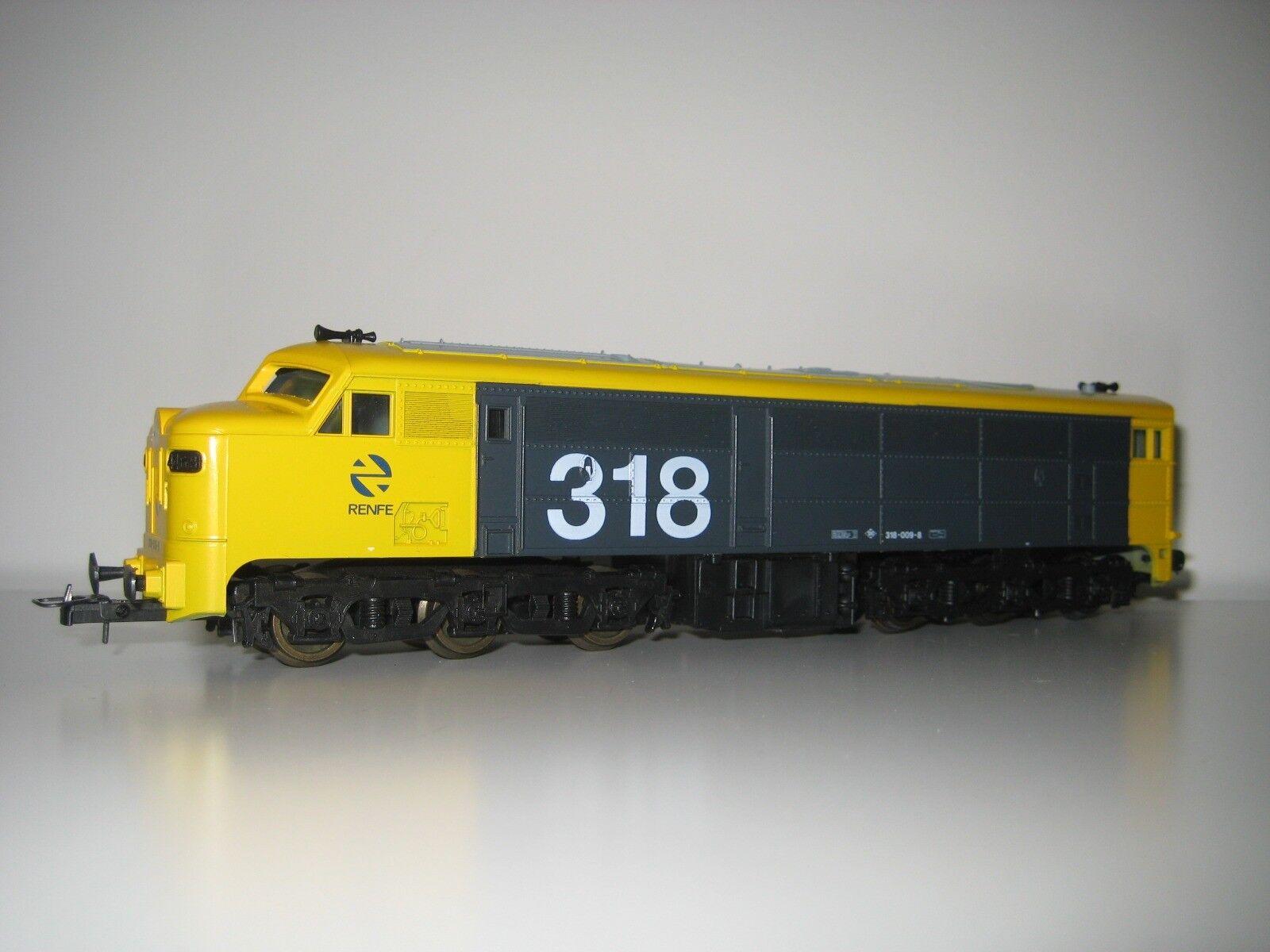 Lima H0 208013 L - Locomotora Diesel Taxi 318 009-8 RENFE