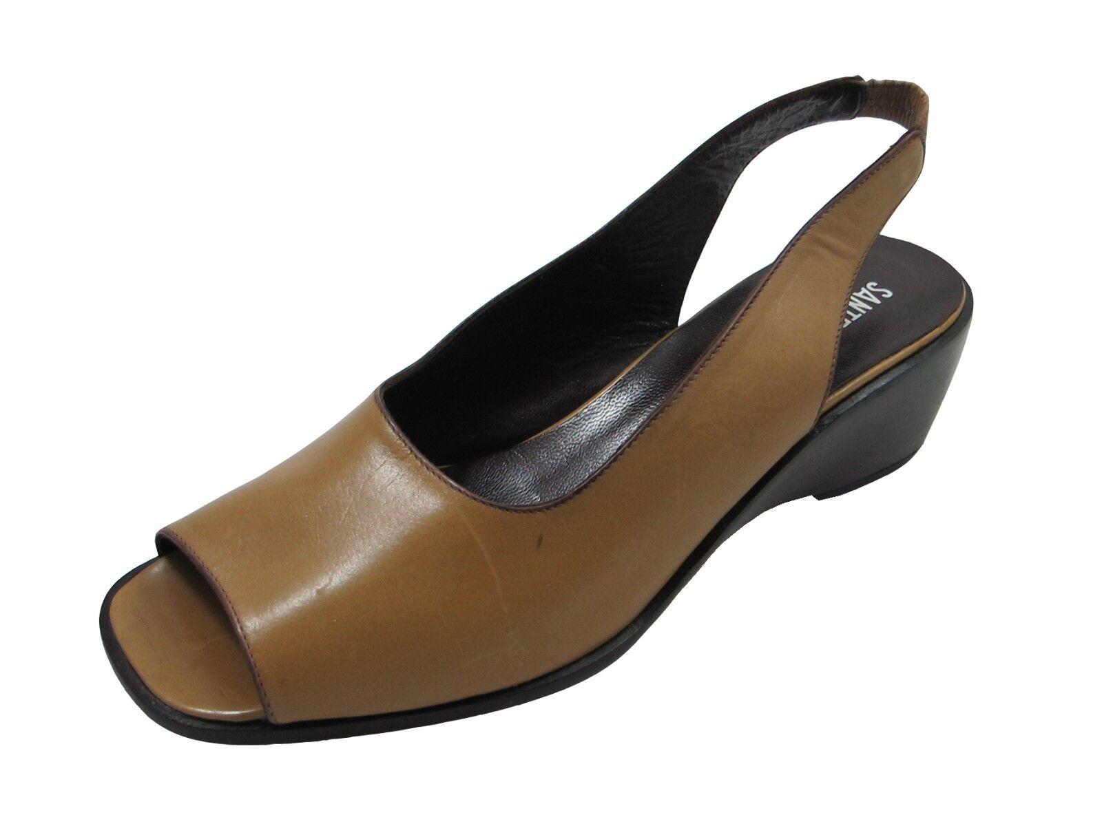 Santa Borella Designer 7213 Women's Italian Leather  Open Toe and Heel Sandal