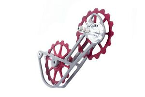SwishTi-Road-Bicycle-Bike-Oversized-Pulley-Titanium-Cage-OSPW-for-Sram-Red-Force