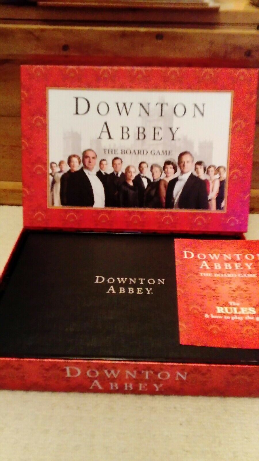 Destination DOWNTON ABBEY The Board Game SEALED CONTENTS