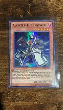 3x Aleister The Invoker FUEN Super Rare Italian Language Yugioh 1st ed