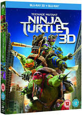 Teenage Mutant Ninja Turtles (3D Edition) [Blu-ray]