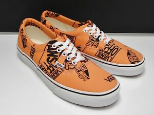Vans orange Vn noir Mix Era Men's 0a38fru8k logo Mandarine 13 Us raxPXprq