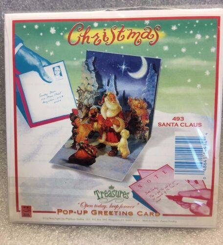 PopShots 3D Pop-Up Greeting Card Merry Christmas Pop Shots Santa