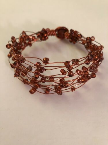 Mi Linea Copper Brown Gl Bead