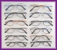 Reading Glasses 12 Pair Metal Frame +2.25 Wholesale Reader 2.25