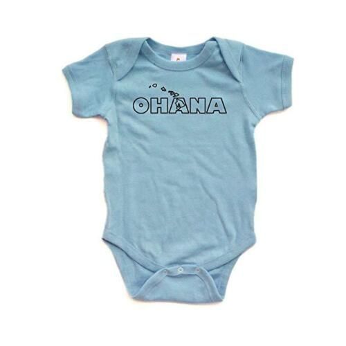 Ohana Family Hawaii Hawaiian Cute Baby Handmade Quality Fun Unisex Bodysuit