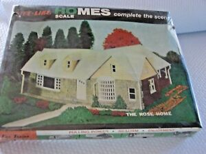 Life-Like-HOMES-HO-Scale-part-S354K-THE-ROSE-HOME