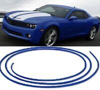 Blue Trim Strip Grill Interior Exterior Car Styling - Micro Dash Molding