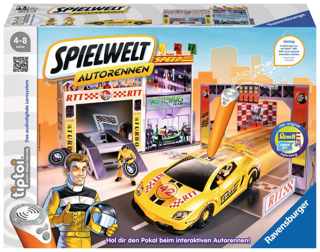Ravensburger tiptoi Spielwelt Autorennen 00761