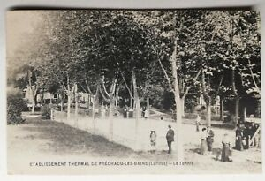 829-Antique-Postcard-Hotel-Thermal-of-Prechacq-les-bains