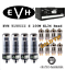 thumbnail 3 - Premium GOLD Tip Tube Set Peavey 5150III S 100 Watt EL34 Head Electro Harmonix