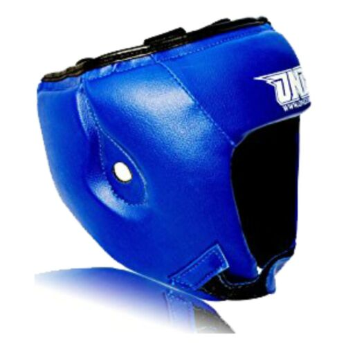 Onex Martial Arts Boxing Head Guard Blue Sparring Protection Mens Womens Boys