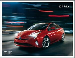 Image Is Loading 2017 Toyota Prius Hybrid Electric 22 Page Original