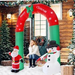 weihnachtsmann aufblasbar 240cm santa dekoration. Black Bedroom Furniture Sets. Home Design Ideas