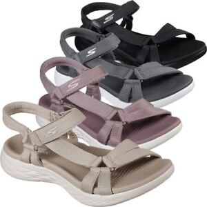 Skechers Performance Women S On The Go 600 Brilliancy Sandals Ebay