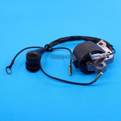 Zündspule mit Zündkerze Ansaugstutzen Ölschlauch für Stihl 024 026 MS240 MS260