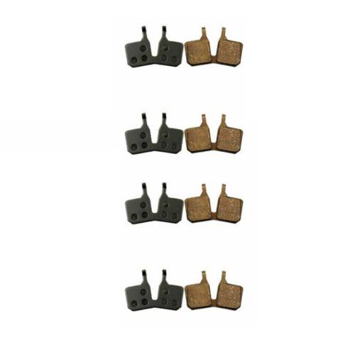 7 Pads Semi Brake Pads 4 Pairs Piston Shoes Semi-metal For Magura MT 5