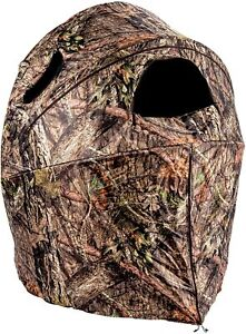 Ameristep Mossy Oak Break-Up Country Hunting / Shooting Tent Chair Blind