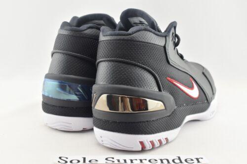 CHOOSE SIZE Nike Air Zoom Generation QS AJ4204-001 Kings Rook White Lebron 1
