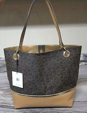 4303504ff72 item 3 CALVIN KLEIN CK Monogram Print LARGE Tote / Handbag in