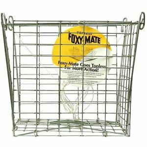 Foxy-Mate 120T Stackable Topless Crab Trap / Traps Case Lot of 12