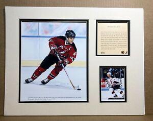 New Jersey Devils SCOTT STEVENS 1994 Hockey 11x14 MATTED Kelly Russell