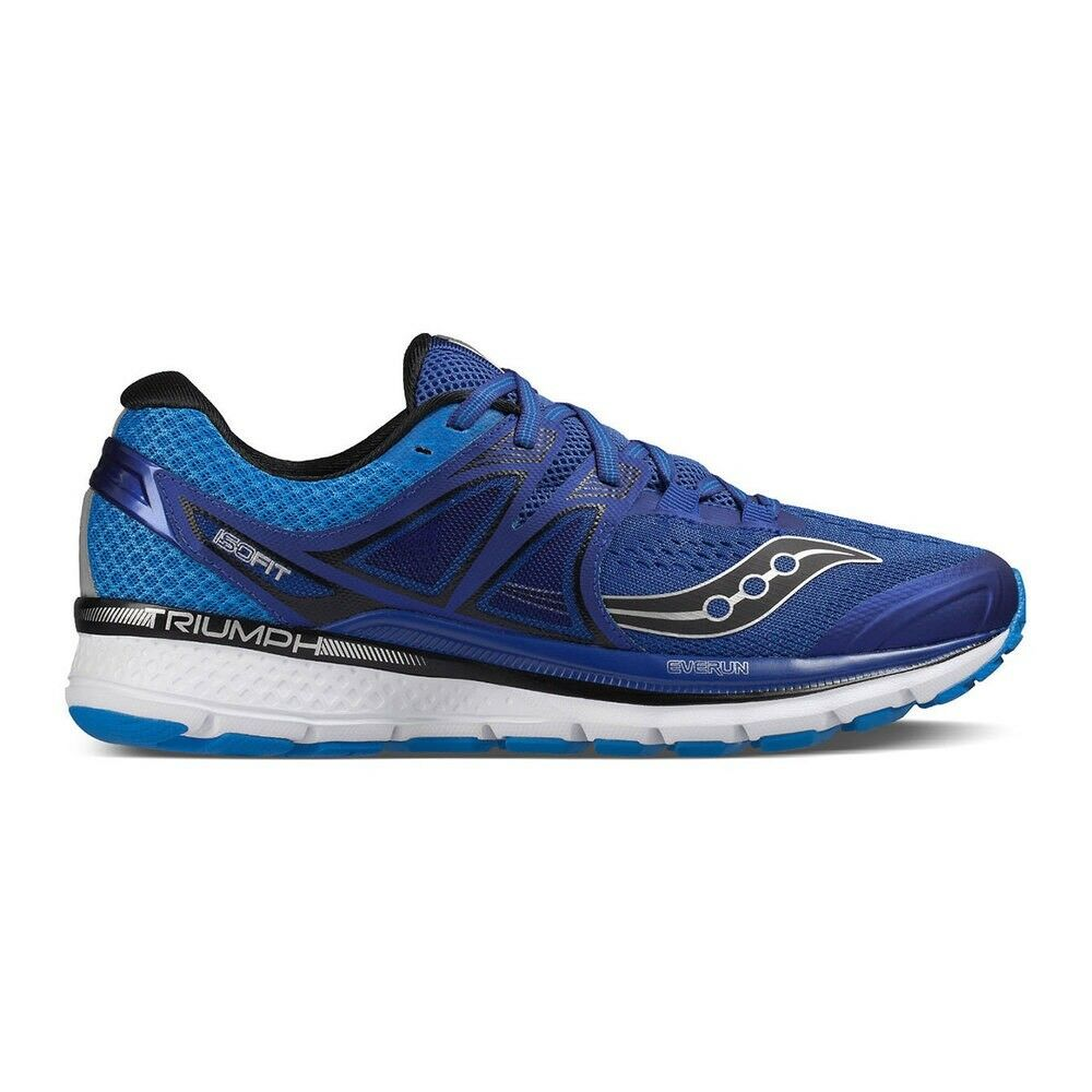 NWB Saucony hommes Triumph ISO 3 Running Chaussures , bleu,