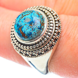Tibetan Turquoise 925 Sterling Silver Ring Size 8.25 Ana Co Jewelry R51898F