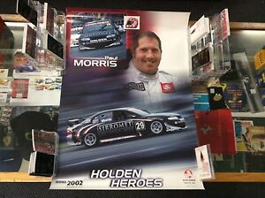 HOLDEN-HEROES-PAUL-MORRIS-No-6-of-6-POSTER-2002
