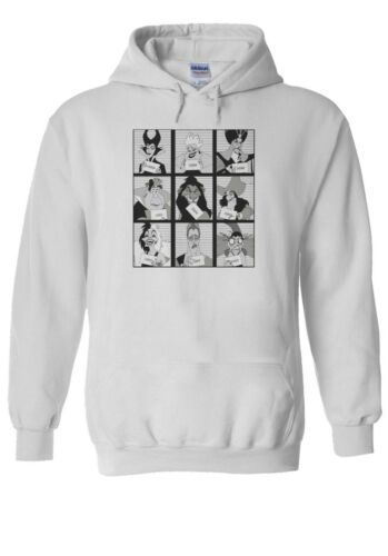 Villains In Prison Men Women Unisex TShirt T-shirt Vest Baseball Hoodie 2983